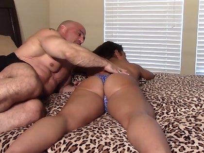 Taboo finger fuck till massive orgasm