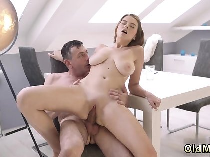Old progenitrix enjoys together with man fuck young girl hd Old wise