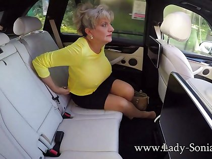 Big Milf Tits On Show In The Buggy - LadySonia