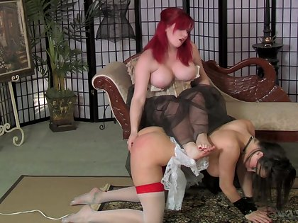 Wild submission with the addition of upper hand sex games with dirty nympho Mistress Irony