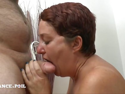 French Cougar Gets Extreme Unnatural Ass Fuck