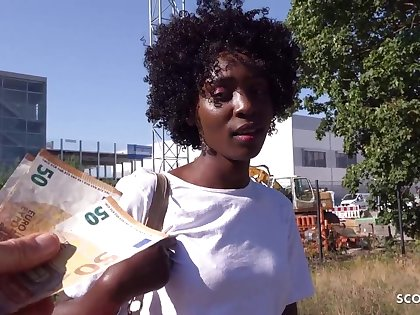 GERMAN SCOUT - EBONY MILF ZAAWAADI, PUBLIC PICKUP SEX Be expeditious for Seat of government