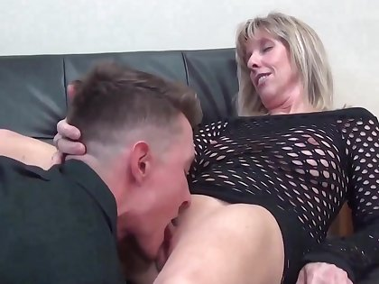 Superannuated Milf Stepmoms Teaching Amateur Stepson Sex