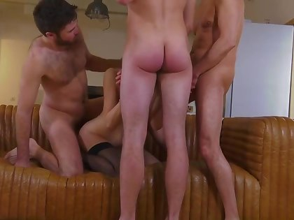Tanya french mummy very first set up and mass ejaculation