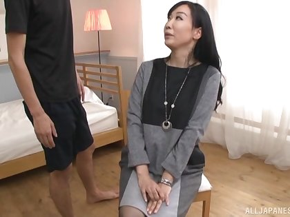 Asian bungler Gotou Chika drops her clothes and plays for the camera