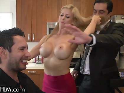 Destroyed In Front Of My Husband - Alexis fawx